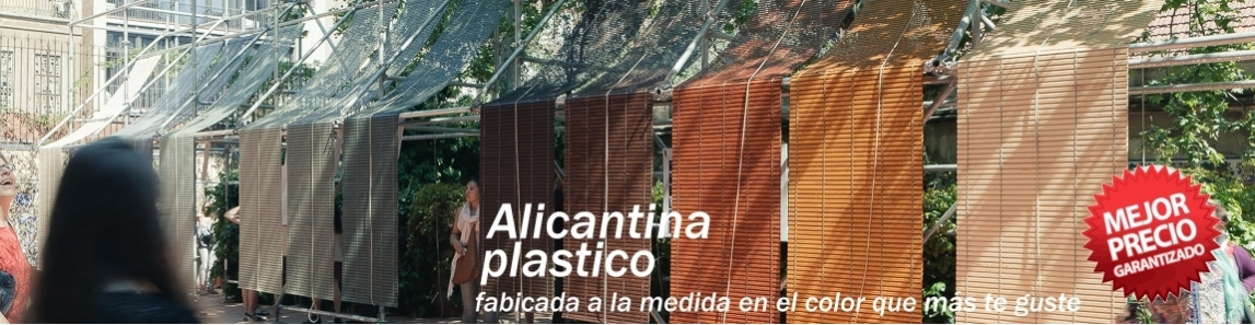 PERSIANAS ALICANTINAS PVC