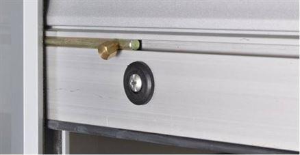 Cerrojos para persianas ventanas o puertas precios bajos for Ventanas aluminio gris antracita