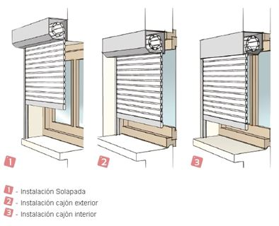 Como colocar la cinta de una persiana excellent amazing - Colocar cinta persiana ...